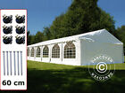 Marquee 6x12 m 6m x 12m PVC Garden Party Tent Gazebo Wedding Marquees Canopy