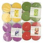 PMS tealight candles pack of 4    5 colours available