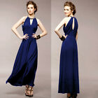 Elegant Ladies Long Maxi Vintage Cocktail Party Ball Gown Prom Evening Dresses