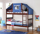 Mission Bunk Bed - Cappuccino - Options Available