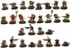 Pro-Painted 28mm Sci-Fi-Muster Troops-The Ion Age Space Opera-Paint Rack 3-SALE!
