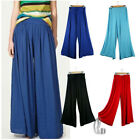 Casual Draped Cotton Wide Leg Yoga Harem Beachwear Pants AU SELLER P004