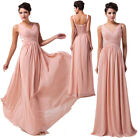 Beautiful Bridesmaid Wedding Long New Formal Evening Prom Chiffon Party Dresses