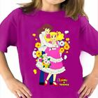 T-SHIRT CANDY CANDY E TERENCE CARTOON ANNI 80 TSHIRT DONNA E BAMBINA VINTAGE