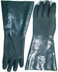 "NORTH TRAWLER KING 16"" PVC COATED GLOVES WITH FLEECE LINING IDEAL OIL/GREASE NEW"