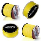 Spider 100M-2000M 10LB-300LB Yellow 100%PE Dyneema Braided Fishing line