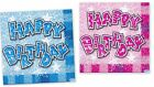 Happy Birthday Glam Serviettes/Napkins Party Tableware (08065,08066)