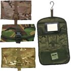 CAMPING WASH BAG UNBREAKABLE MIRROR WATERPROOF MTP POUCH MULTICAM HIKING FISHING