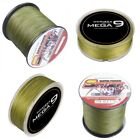 Spider Dyneema 100M-2000M  10LB-300LB Fishing Braid Carp Line Army Green