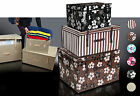 Chest trunk storage boxes   size M many designs ENG