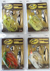 Culprit Spinnerbait, 3/8 oz, TWO Packs of Same Color (Choose Your Color)