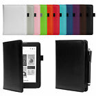 SMART PU LEATHER CASE COVER WITH WAKE/SLEEP SUPPORT FOR KOBO AURA