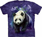 Panda Collage Child  Animals Unisex T Shirt The Mountain