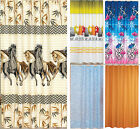 """Extra Long And Wide Fabric Shower Curtain, Vast Selection 240 X 200cm (94""""X78"""")"""