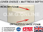"MEMORY FOAM MATRESS 4.6FT 5"" 6"" 8"" 10"" MEMORY FOAM MATTRESS+COVER"