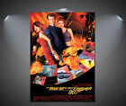 James Bond 007 The World is Not Enough Vintage Movie Poster - A1, A2, A3, A4 £10.9 GBP