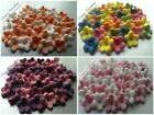 "36x0,5"" Edible sugar Flowers Blossoms Blooms Cakes Cupcakes Toppers"