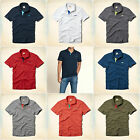 HOLLISTER Men`s Polo Shirt  NWT Pearl Street SZ: S,M,L,XL Navy, Grey, Red, White