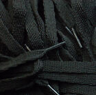 TZ Branded 10mm Flat Laces For Fashion Trainers, Shoes & Boots -Standard Colours