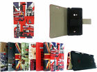Leather Phone Wallet Flip Book Case Cover for Nokia Lumia 625 with stylus