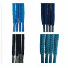 Round 2/3mm Laces -Blues-  All Lengths - For Boots, Shoes, Plimsoles & Trainers