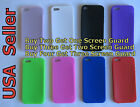 (8 Colors) Iphone 5 Solid Silicon Skin Soft Gel Case Cover Accessory