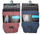 Mens WOVEN Printed Cotton Blend Boxer Shorts Underwear 6 PK Sizes S to XL