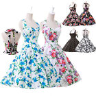 LON FAST DELIVERY 50s 60s Retro Pinup Rockabilly EVENING CHEAP Prom Celeb Dress