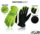 Cycling Gloves Bike Full Finger Night Vision Autumn/Winter Waterproof S to XL