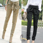 Womens Casual Office Work High Waist Baggy Harem Hippie pants AU SELLER P005