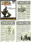 Flintloque/Slaughterloo 'Barking Irons-2' & Notable Newspapers Gaming Magazines