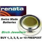RENATA 362 SR721SW Swiss Watch Cell Battery Silver Oxide 1.55V New X 1,2,5,10
