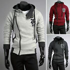 Smart Mens Casual Hoodie Jacket Coat Outwear Sweatshirt Jumper Tracksuit 4SZ JS