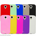 Soft Silicone Case Skin Cover for Samsung Galaxy S4 IV I9500 + Screen Protector