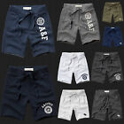 New Abercrombie & Fitch Men Athletic Fleece Sweat Shorts Hollister All Size NWT