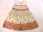 GIRLS SUMMER DRESS FLORAL AND PAISLEY PRINT COTTON AGES 2 UP TO 7 YEARS