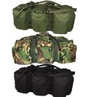 MILITARY 100 LITRE ASSAULT HOLDALL LARGE TRAVEL BAG RUCKSACK CAMPING FISHING