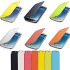 Luxury Slim Flip Leather Hard Case Cover Skin For Various Samsung Galaxy Phone