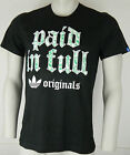 ADIDAS ORIGINALS G PAID IN FULL TEE T -SHIRT MENS BLACK MULTI CASUAL RETRO BNWT
