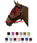 GALLOP FLY FRINGE -ONE SIZE FITS COB / FULL -PINK / PURPLE, NAVY/BLUE RED/BLACK