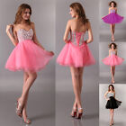 FREE SHIP  GK Sequins FASHION Strapless Bridesmaid Evening Party Prom Gown Dress