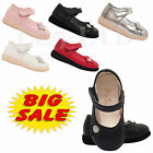 Girls Infant Children Kids Wedding Bridesmaid Velcro Synthetic Casual Shoes 3-7