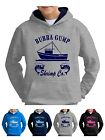 Kids Forrest Gump Bubba Shrimp Fishing Movie DVD Hoodie Sweater Pullover Jumper