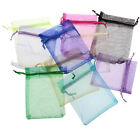 Organza Pouch Wedding Jewellery Gift Bag 9*12CM wholesale many colors 100pcs