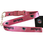 NFL New England Patriots Lanyard Keychain ID Holders
