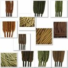 TZ Laces - Brown - Flat, All Lengths, For Boots, Shoes, Plimsoles & Trainers