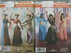 BELLY DANCE BOLLYWOOD INDIAN COSTUME SEWING PATTERN 2941 or 3832