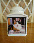 "Cat Memorial Urn ""Personalized"",   Photo ,  Pet,  Dog,  Add poem,  dates,  etc."