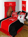 Chicago Bulls Bed in a Bag Curtains Valance Twin Full Queen King Comforter