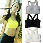 Womens Soft Handfeel Seamless Removable Padded Bra Leisure Vest Sports Bras